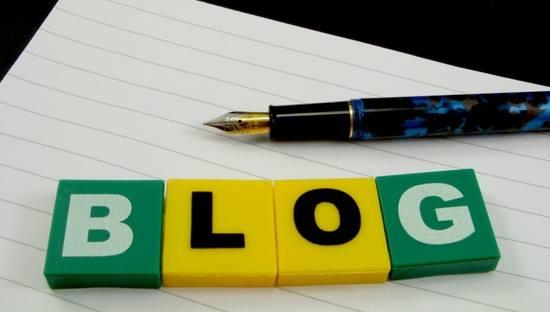 page de présentation blog