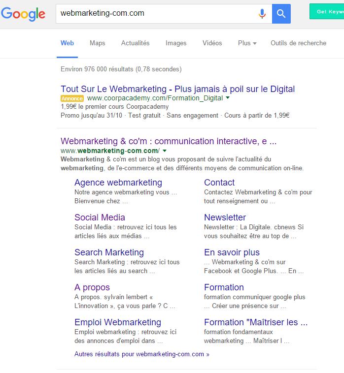 site pénalisé google