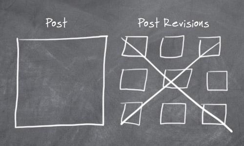 supprimer limiter révision wordpress
