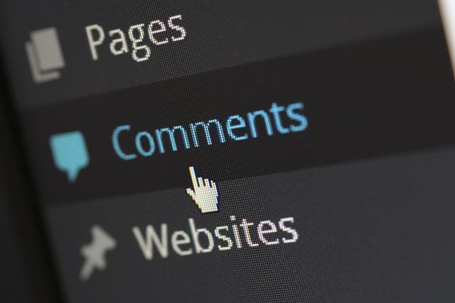 commenter un blog